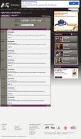 A&E Web Schedule