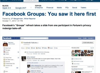Fortune.com compares my ideas to Facebook Groups